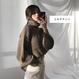 ボリューム袖タートルネックセーター/ニット 3色93