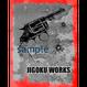 JIGOKU WORKS-Tee-A-ORGANIC