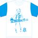 空想8bitガールG Tシャツ青
