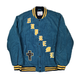 Supreme Old English Corduroy Varsity Jacket Blue L 18SS【中古】