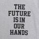 THE  FUTURE  C/N  SWEAT  SHIRT ザ フューチャー スウェットシャツ