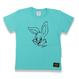 BIG  FACE  RABBITS  T-Shirts  GREEN