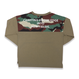BACK CAMO POCKET   L/S TEE バックカモポケットロンT