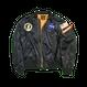 NASA MA-1 Flight Jacket (Navy) TopCoat / MA-1フライトジャケット (ネイビー) 薄手