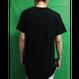 ※取寄せです※ Blank Round Hem T-Shirts - BLK / 無地ラウンドヘムT - 黒