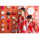 ★数量・期間限定  おうち写真館 hinamatsuri momo *名入れあり【Mサイズ:縦841 × 横1189 mm】