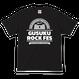 GUSUKU ROCK FES  TEE(A) / BLACK