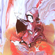 神功皇后と応神天皇の愛(ジクレー版画)