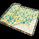 ムーミン 綿麻キャンバス 110㎝幅×10㎝単位 ライム