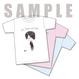 【WEB限定】ゆるい絵 Tシャツ [白、ライトピンク、ライトブルー]