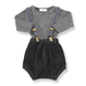 1+in the family / KOLDO suspenders - grey