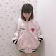 181JK23 【Unisex】シナモンスカジャン
