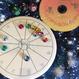 まめに暮らそう!完全ハンドメイド  #豆惑星マグネット 10個セット(写真のシンプル台座つき)