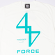 FORCE TEE (WHTxEME)