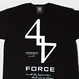 FORE TEE (BLK x WHT)