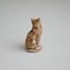 Vintage/Enland WADE社 茶色のしっぽ猫