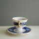 Vintage/France 白薔薇の小さなカップ&ソーサー