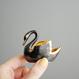 Vintage/France Black SwanのSalt&Pepper Cellars