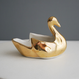 Vintage/France 金色の白鳥 2羽セット