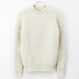 DE BONNE FACTURE : ENGLISH RIB CREW NECK
