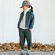check warm pants (charcoal/95.110) / MOUN TEN.