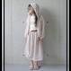 mesh skirt pink (125) / MOUN TEN.