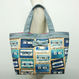【online store限定】basic tote tapes beige