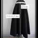 ▼予約終了 thomas magpie long skirt black