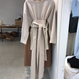 Cotton long onepiece