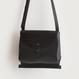 """""""sack"""" shoulder bag   ( black / d.brown )"""