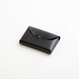ric-rac card case(black / brown / nude / green)