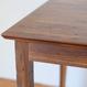 ゼフ ダイニングテーブル 140 (ミディアムブラウン) / ZEPH DINING TABLE 140 (MBR)