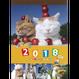 <<★八月おすすめ★>> 2018カレンダー[壁掛け]