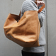 Tote bag L/Brown Mirror finish/ドイツホックタイプ