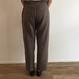 《evam eva》raising linen drawstring pants