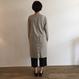 《evam eva》cotton   cashmere shirt robe