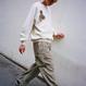 Vintage Picture Raglan T-Shirts – Beige