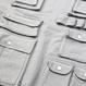 Pocket Detail Sweatshirts – Grey