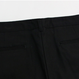 Capri Zipper Detail Pants – Black