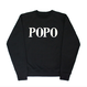 POPO' Sweatshirts – Black