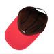 Simple Logo Long Bill Cap – Pink&Brown