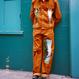 Van Gogh Corduroy Pants – Brown
