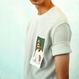 Baseballcard 1/2 Shirts – White