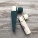 Rip balm case(チューブタイプ&スティックタイプ)❃ブルー&ホワイト