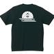 YAMATERAS / 菊水バックプリントTシャツ 7.1oz スーパーヘヴィウェイト仕様 黒