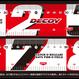 DECOY メジャーステッカー100 【DA-6】