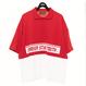LAYERED BIG POLO SHIRTS(RED)