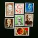 ドイツのおじいさんが収集していた古切手(6) 世界ちょび髭7人衆