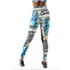 """Mayan Temple"" High Rise Leggings"