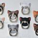 猫型 ホールド リング  12.Cute(キュート)